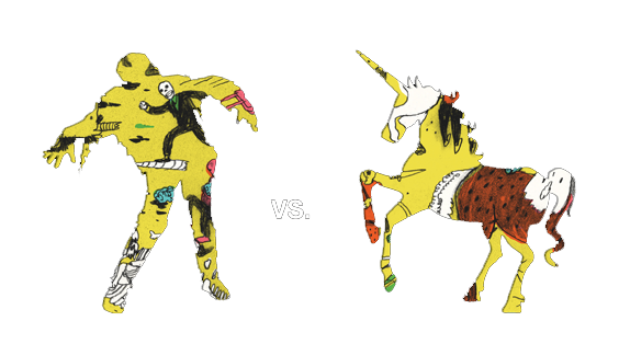 Zombies vs Unicorns by Holly Black and Justine Larbalestier