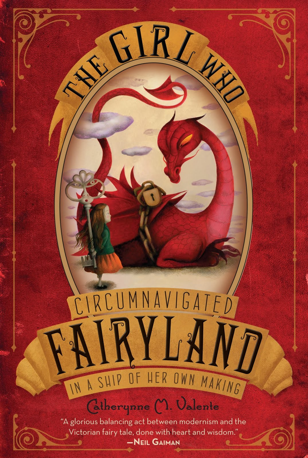 The Girl Who Circumnavigated Fairyland in a Ship of Her Own Making by Catherynne Valente
