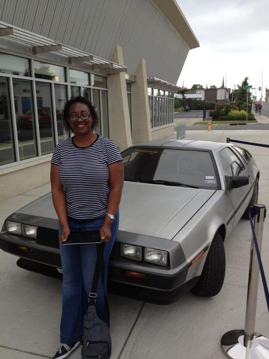 adrienne and delorean