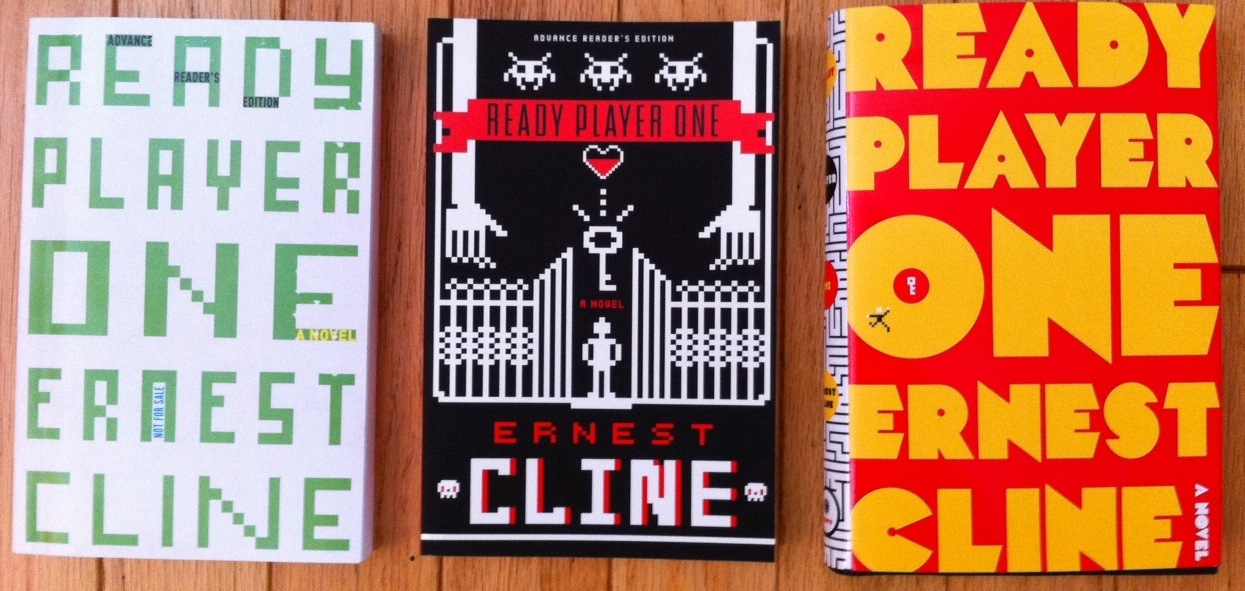 Ready Player One book covers