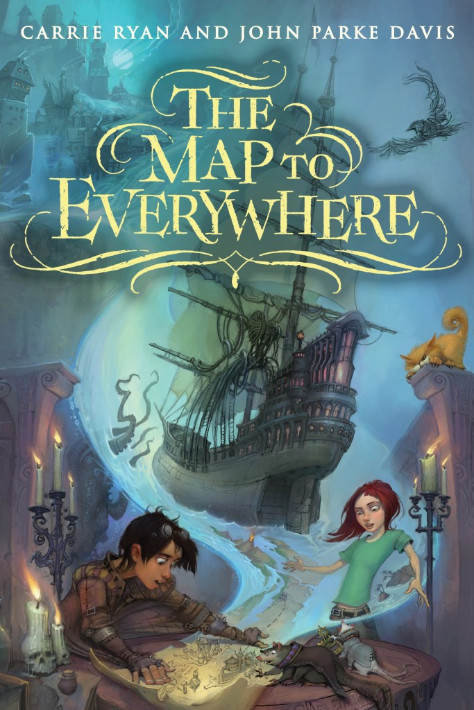 Map to Everywhere by Carrie Ryan and John Parke Davis