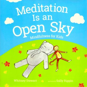 Meditation is an Open Sky: Mindfulness for Kids by Whitney Stewart and Sally Rippin