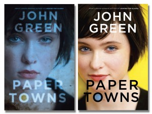Paper Towns by John Green, second book cover image