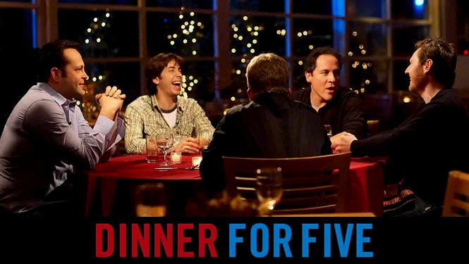Dinner for Five hosted by Jon Favreau