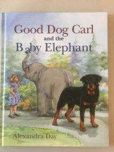 Good Dog Carl and the Baby Elephant by Alexandra Day