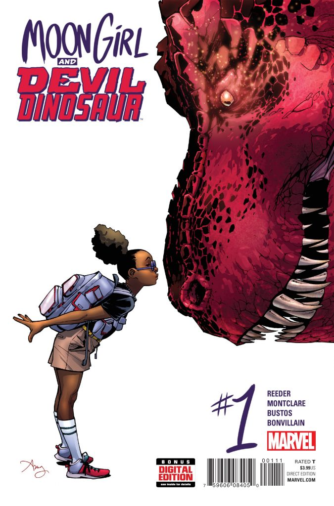 Moon Girl and Devil Dinosaur by Brandon Montclare and Amy Reeder