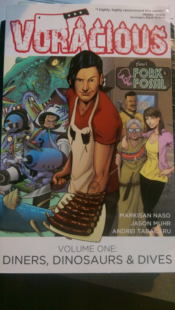 Voracious Vol One: Diners, Dinosaurs & Dives by Mariksan Naso and Jason Muhr